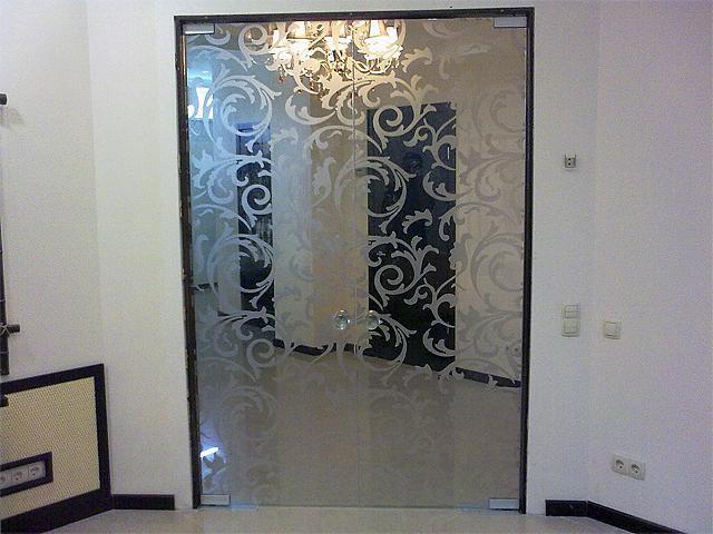 Двери из стекла ремонт